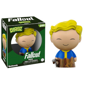 Fallout Vault Boy Rooted Dorbz Vinyl Figur
