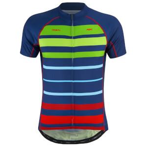 PBK Primal Bright Stripes Jerseys - Blue/Green/Red