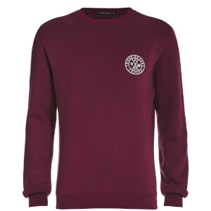 Friend or Faux Men's Tremer Sweatshirt - Burgundy