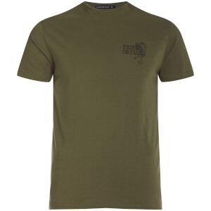 Friend or Faux Men's Tiger T-Shirt - Khaki