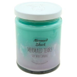 Mermaid Shack Tears Ombre Candle