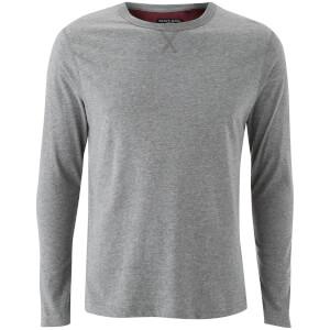 Camiseta manga larga Brave Soul Prague - Hombre - Gris claro