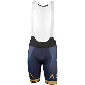 Aqua Blue Bib Shorts - Blue
