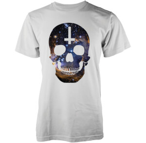 Camiseta Abandon Ship Galaxy Skull - Hombre - Blanco