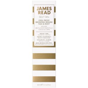 James Read Fool Proof Bronzing Mousse 100ml: Image 2