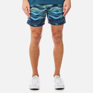 BOSS Hugo Boss Men's Piranha Swim Shorts - Open Blue