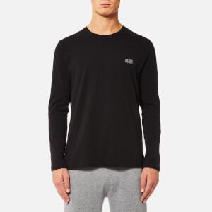 BOSS Hugo Boss Men's Long Sleeve Crew Neck T-Shirt - Black