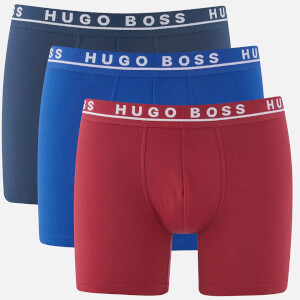 BOSS Hugo Boss Men's 3 Pack Boxer Briefs - Multi