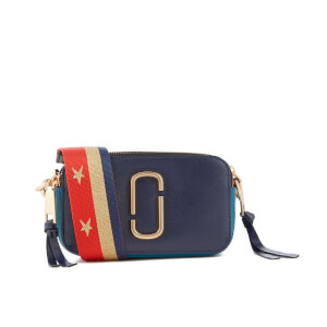 Marc Jacobs Women's Snapshot Cross Body Bag - Midnight Blue Multi