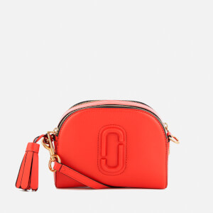 Marc Jacobs Women's Shutter Cross Body Bag - Lava Red