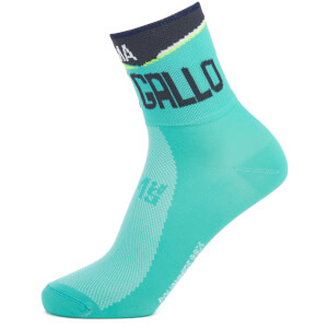Santini Bergamo Collection Colle Gallo Socks - Blue