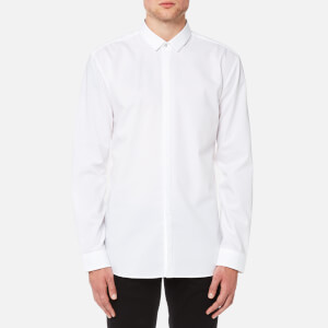 HUGO Men's Ebros Long Sleeve Shirt - White