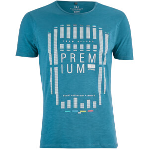 T-Shirt Homme Cavalieri Smith & Jones -Bleu Lyon