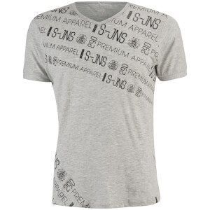 Smith & Jones Men's Chartres T-Shirt - Light Grey Marl