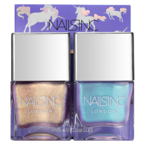 Duo de Vernis à Ongles Sparkle Like a Unicorn nails inc. 2 x 14 ml
