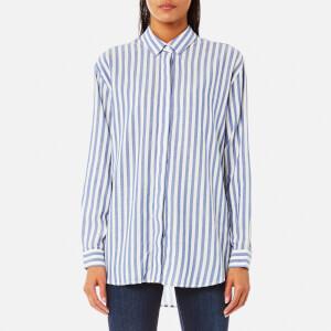Samsoe & Samsoe Women's Caico Shirt - Surf The Web Stripe