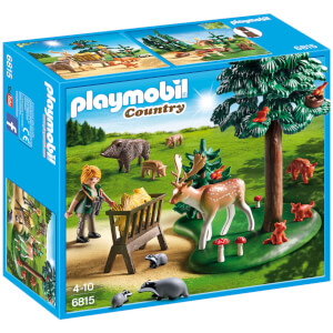 PLAYMOBIL Country: Animales del bosque (6815)