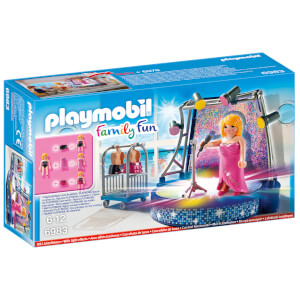 Playmobil Family Fun Singer with Stage (6983)