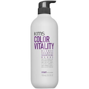 KMS Colour Vitality Blonde Shampoo 750ml