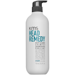 Shampoo HeadRemedy Deep Cleanse da KMS 750 ml