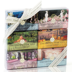 Nesti Dante Emozioni in Toscana Soap Collection Set 6 x 150g