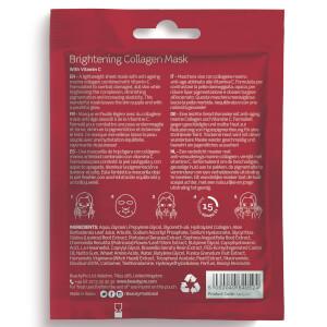 BeautyPro Brightening Collagen Sheet Mask with Vitamin C: Image 2