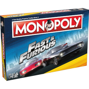 Monopoly Board Game - Fast & Furious Edition