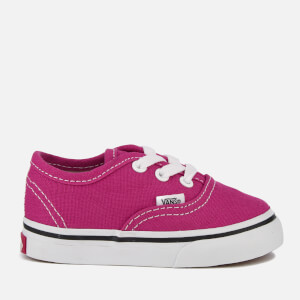 Vans Toddlers' Authentic Trainers - Very Berry/True White