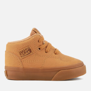 Vans Toddlers' Half Cab Vansbuck Trainers - Light Gum/Mono
