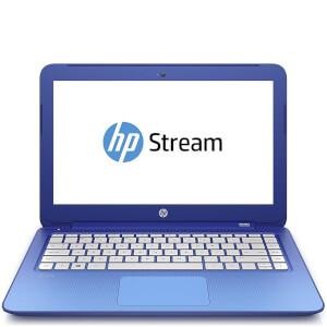 "HP 13-C100NA 13"""" Laptop (Intel Celeron N3050, 2GB, 32GB, 1.6GHz, Windows 10) - Blue - Manufacturer Refurbished"