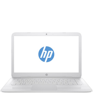 "HP 14-AX003NA 14"""" Laptop (Intel Celeron N3060, 4GB, 32GB, 1.6GHz, Windows 10) - White - Manufacturer Refurbished"