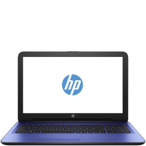 "HP 15-AC112NA 15.6"""" Laptop (Intel Pentium N3700, 8GB, 1TB, 1.6GHz, Windows 10) - Blue - Manufacturer Refurbished"
