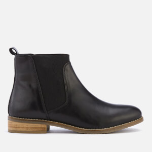 Dune Women's Quote Leather Chelsea Boots - Black