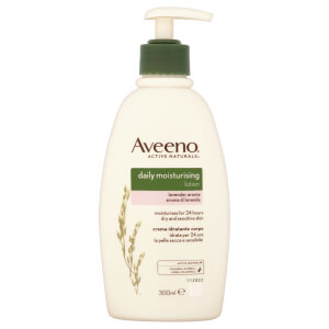 Aveeno lozione idratante quotidiana - lavanda 300 ml