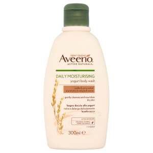 Aveeno bagnoschiuma idratante quotidiano - vaniglia e avena 300 ml