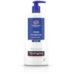 Neutrogena Norwegian Formula Deep Moisture Body Lotion for Dry Skin 400 ml