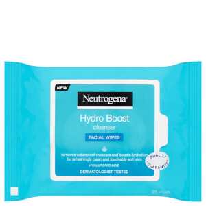 Neutrogena Hydroboost Cleanser Wipes (25 Wipes)