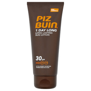 Piz Buin 1 Day Long Lasting Sun Lotion - High SPF 30 100 ml