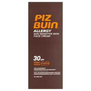 Piz Buin Allergy Sun Sensitive Skin Face Cream - High SPF30 50 ml
