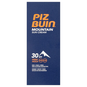 Crema solar Mountain de Piz Buin - FPS 30 alto 50 ml