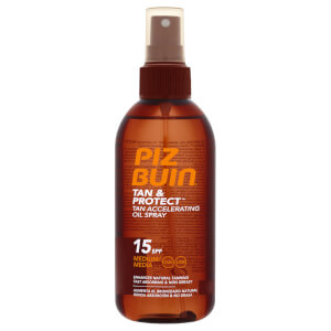 Защитный спрей-масло для ускорения загара Piz Buin Tan & Protect Accelerating Oil Spray SPF15 150 мл