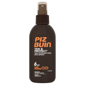 Piz Buin Tan & Protect Tan Intensifying Sun Spray - Low SPF6 150ml