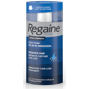 Regaine for Men Extra Strength Hair Regrowth Foam 73ml