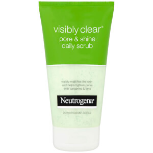 Neutrogena Visibly Clear Pore and Shine Daily Scrub 150ml