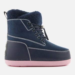 KENZO Women's Nebraska Snow Boots - Navy Blue