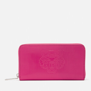 KENZO Women's Icons Continental Wallet - Deep Fuchsia