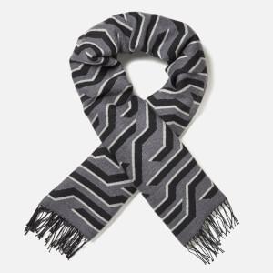 KENZO Women's Geotiger Wool Scarf - Pale Grey