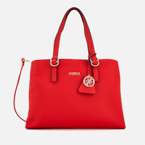 Guess Women's Tulip Satchel Bag - Red