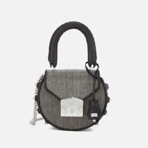 SALAR Women's Mimi Mini Disco Bag - Silver