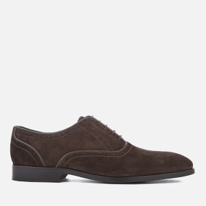 PS by Paul Smith Men's Gilbert Suede Brogues - Dark Brown